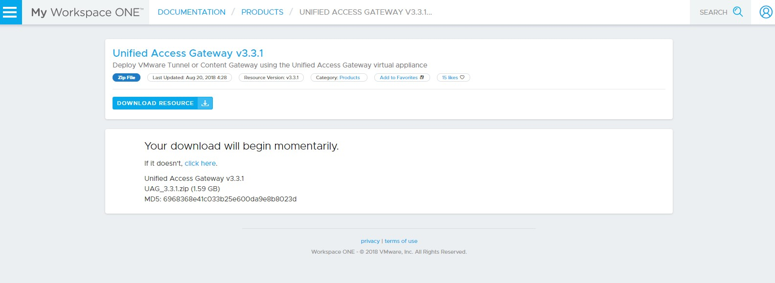 Upgrade Vmware Airwatchworkspace One From Version 91 To 96 And