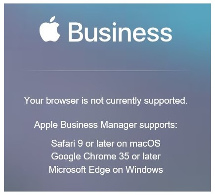 Steps to upgrade from Apple DEP and VPP to Apple Business