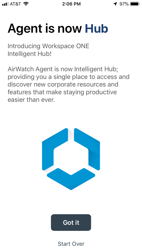Transition from AirWatch Agent to Workspace ONE Intelligent