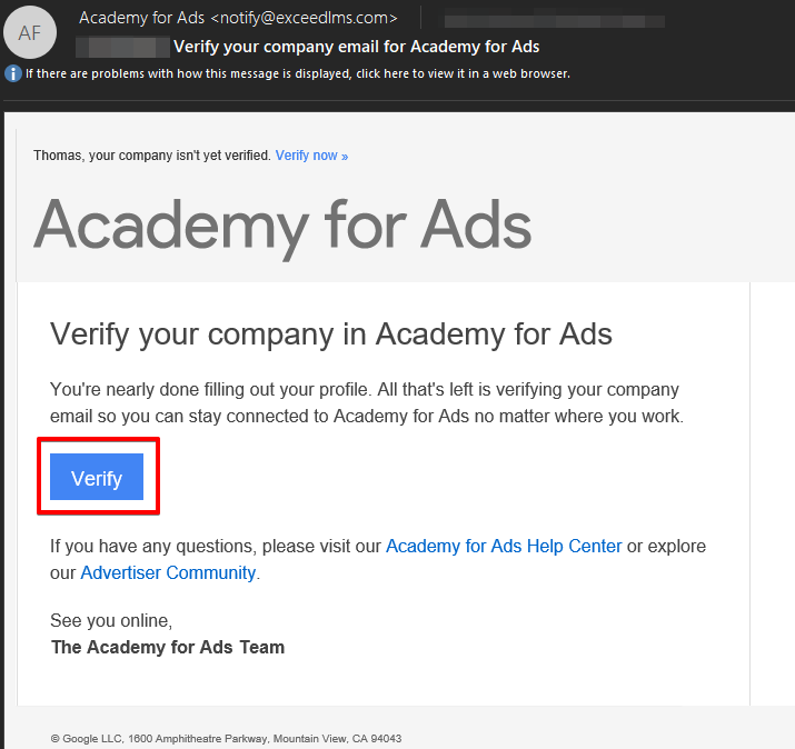 [EXTERNAL] Verify your company email for Academy for Ads - Message (HTML) 2019-06-13 11.23.51.png