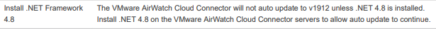 VMware AirWatch Cloud Connector - VMware Workspace