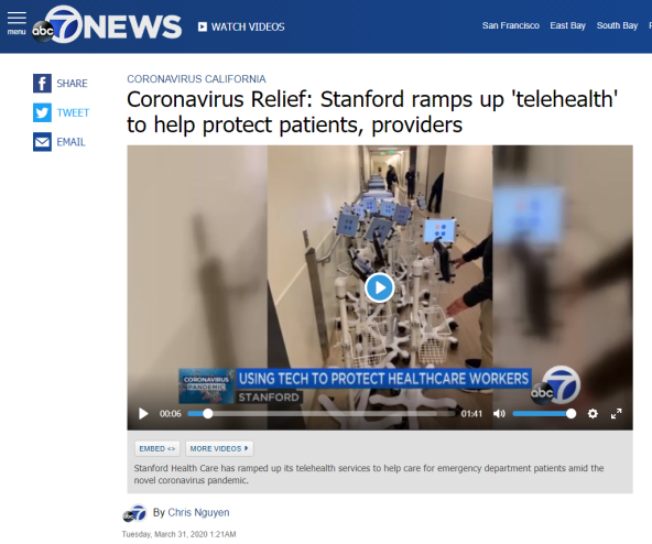 Coronavirus Relief_ Stanford ramps up 'telehealth' to help protect patients, providers - ABC7 San Francisco - Google Chrome 2020-04-03 00.07.19