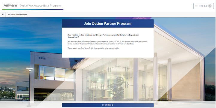 Join Design Partner Program - Google Chrome 2020-0