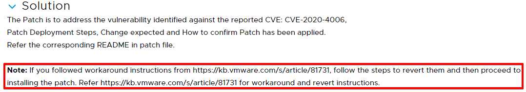 HW-128524_ CVE-2020-4006 for Workspace ONE Access,